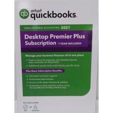 Intuit QuickBooks Desktop Premier Plus 2021 1-Year Subscription (608602, 028287562011)