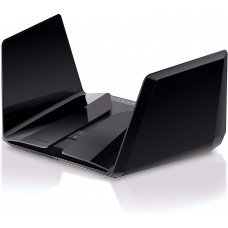 NETGEAR Nighthawk 12-Stream AX12 Wifi 6 Router (RAX200-100NAS) - AX11000 Tri-Band Wireless Speed (Up to 10.8 Gbps) - 606449140484