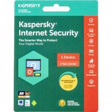 KASPERSKY INTERNET SECURITY 1 DEVICE 2018 (KEY CARD CODE, 1 YEAR LICENCE) ( 653341915610 )