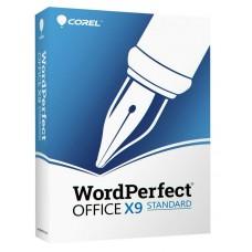 Corel WordPerfect Office X9 STANDARD, New Retail Box - WPOX9STDEFMBAM (735163152906)