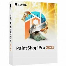 COREL PaintShop Pro 2021 Mini Box(PSP2021EFMBAM, 735163159059 )