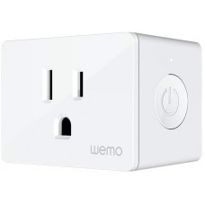 Wemo Smart Plug, Smart Outlet for Smart Home, Control Lights and Devices Remotely Works w/Alexa, Google Assistant, Apple HomeKit-745883786633)