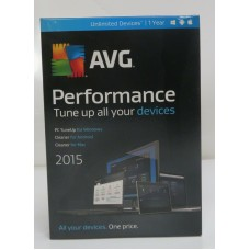 AVG Performance Unlimited 2015 1 Year ( 814949014284, PV1491531)
