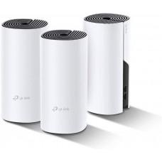 TP-Link Deco Powerline Hybrid Mesh WiFi System(Deco P9) Router/Extender - 3-pack (AC1200 + AV1000,845973088644)